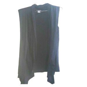 Black short sleeved Cardigan